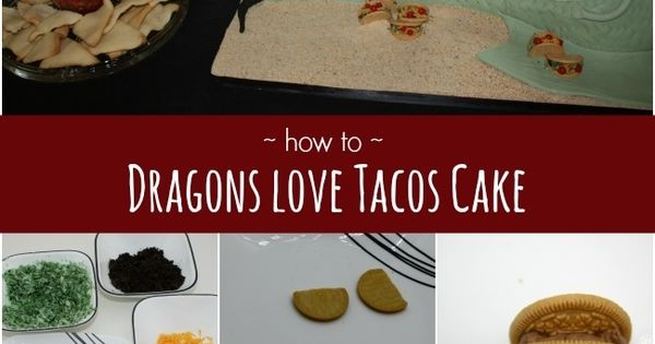 how to make a dragon on a cake