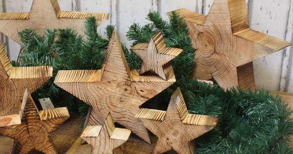 holz stern weihnachtsstern geflammt shabby landhaus holzstern christmasstern dekoration. Black Bedroom Furniture Sets. Home Design Ideas