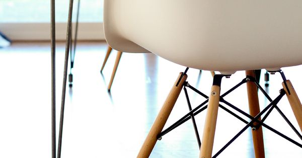Plywood hairpin leg kitchen table for Plywood table hairpin legs