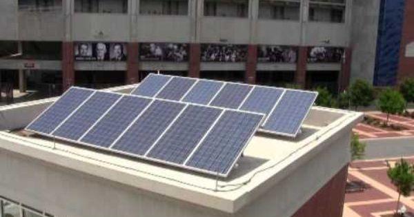 Auburn University Generating Solar Power To Charge Electric Vehicles Http Ocm Auburn Edu Featured Story Solar Panels Ht Electric Cars Solar Auburn University