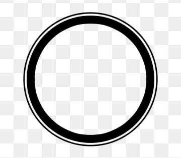 Cercles Noirs Circulaire Clipart De Cercle Noir Cercles Fichier Png Et Psd Pour Le Telechargement Libre Creative Circle Circle Clipart Circle Borders