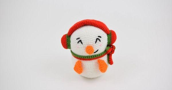 Casper The Snowman Crochet Patterns Animal Pillows Crochet