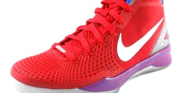 info for 8dc99 3f46c ... Nike Zoom Hyperdunk 2011 Supreme Red Silver Blue White Men s Basketball  Shoes Size ...