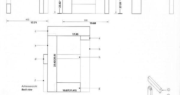 steltman chair   Rietveld Chair Plans   eTear-sheet ... Gerrit Rietveld Chair Plans