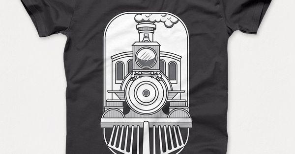 CLASSIC TRAIN T-shirt template Merch By Amazon Pinterest