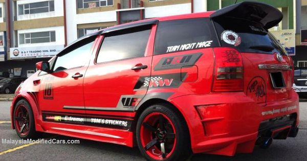 Modified Custom Toyota Wish  Zne10  1st Generation