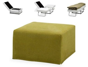 Transformer Furniture Ottoman Into A Bed Furniture For Small