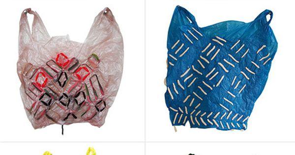 Plastic bag art by artist Josh Blackwell. http://www.joshblackwell.com/