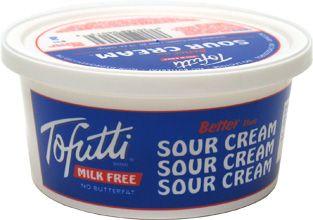 Vegan Confession Tofutti Sour Cream Tofutti Sour Cream Vegan Sour Cream