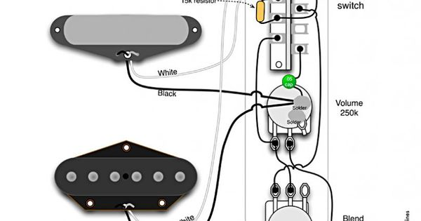 Broadcaster Blend Wiring Diagram By Seymour Duncan
