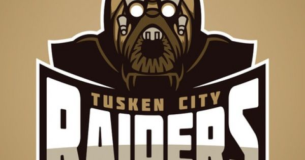 Star Wars Sports Team Logos /// Tusken City Raiders