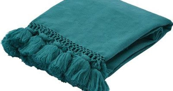 Kate Spade New York Seaport Throw Color Blue Blue Throw Blanket Throw Blanket Blue Linen Bedding