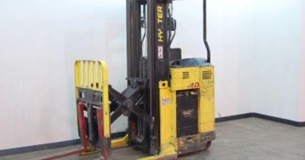 Hyster N40XMR2 Stand-Up Reach Truck Price: 6,950.00 http ...