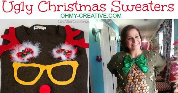 Ugly christmas sweater christmas sweaters and do it yourself on