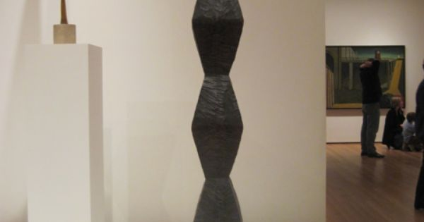 brancusi pedestal google search sculpture wood