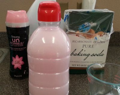 Homemade Fabric Softener Using Just 1 2 Cup Downy