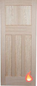 Oak 1930 S 4 Panel Fire Door Fire Doors Internal Fire Doors Glazed Fire Doors