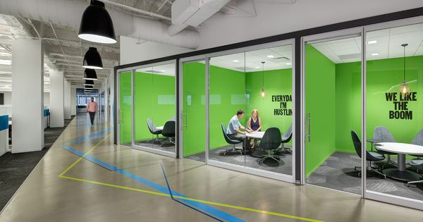 Rocket fuel chicago offices chicago based marketing for Marketing office design