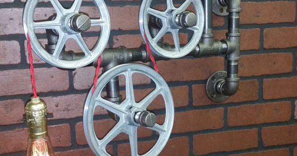 Murale Lampe Lumi Re De Salle De Bain Applique Murale Pendentif Vintage Poulie Industrielle