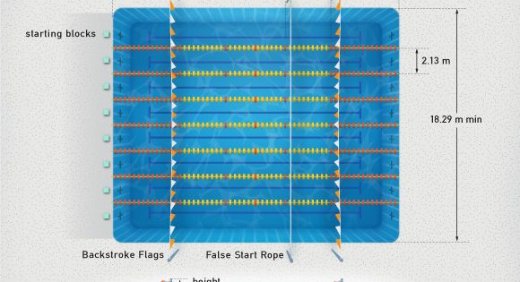 Olympic Swimming Pool Diagram