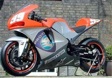Proton Team Kr V5 Motogp Bike Start Of The Constructor Era