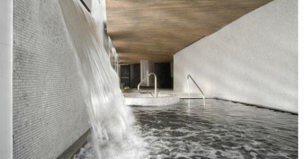 Scandinave Les Bains Vieux Montr Al Spa Interior Design By