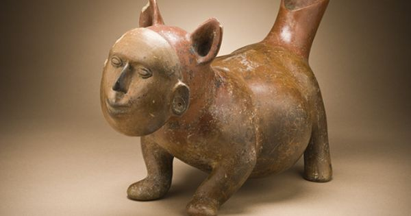 Dog With Human Mask Mexico Colima 200 B C A D 500
