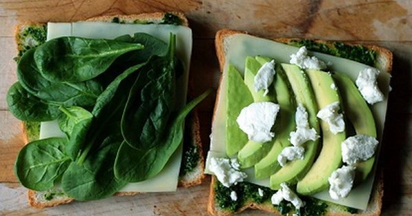 Green Goddess Grilled Chees Sandwich