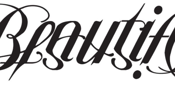 beautiful disaster ambigram tattoo designs sketch coloring page. Black Bedroom Furniture Sets. Home Design Ideas