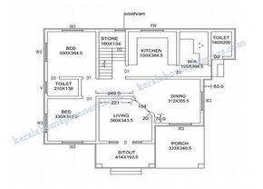 4 Bedroomsdouble Floor Kerala Home Design 1820 Sq Ft 4