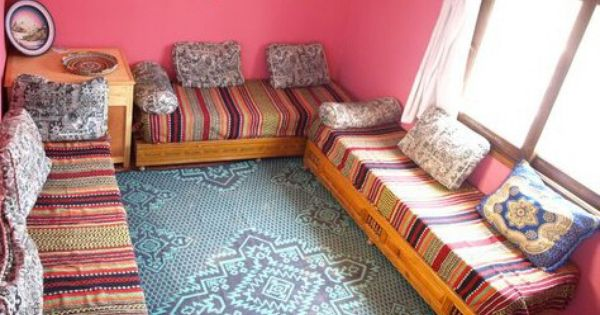 Moroccan Style Decor Pallet Furniture Boom Boom Room