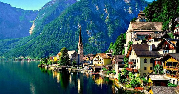 Hallstatt, Austria -- Austria is 1 on my bucket list of places