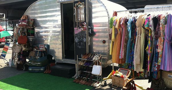 Caravanes vintage et Cie...: Boutique on wheels…