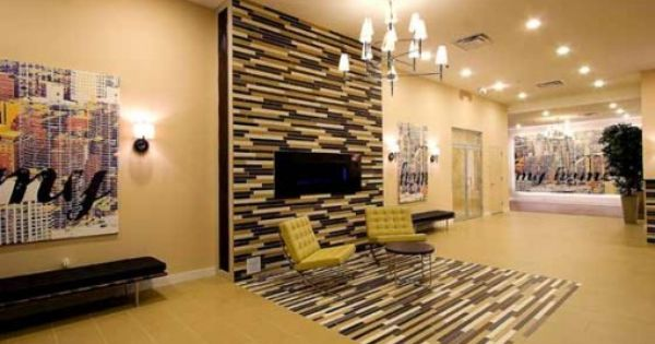 Most Modern Apartment Building Lobby Interior Design Ideas