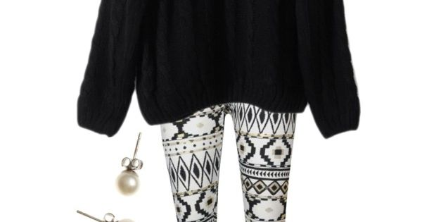 Aztec Leggings by qtpiekelso on Polyvore featuring polyvore, fashion, style, UGG Australia,