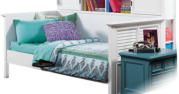 Picture Of Belmar White 4 Pc Bookcase Daybed From Beds