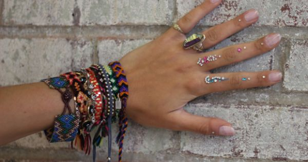 Boho Accessories Bracelet, Cuff, Friendship - gipsy ethno indian bohemian boho fashion