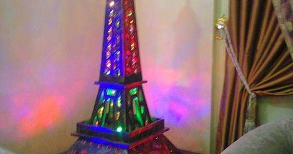 أعمال خشبية برج ايفل Tower Eiffel Tower Eiffel