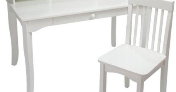 Amazon Com Kidkraft Avalon Desk White Student Desk