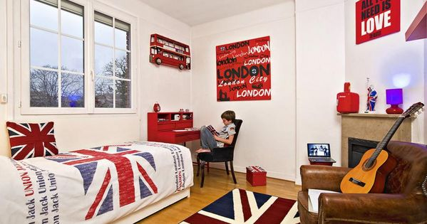 Une chambre d 39 ado made in london chambre ado british for Aquaryl mat