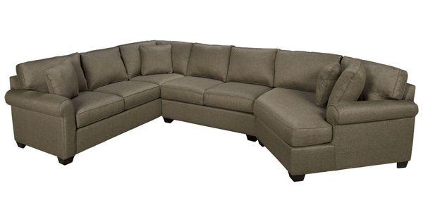 Max home cuddler cuddler 3 piece sectional jordan39s for Sectional sofas jordans