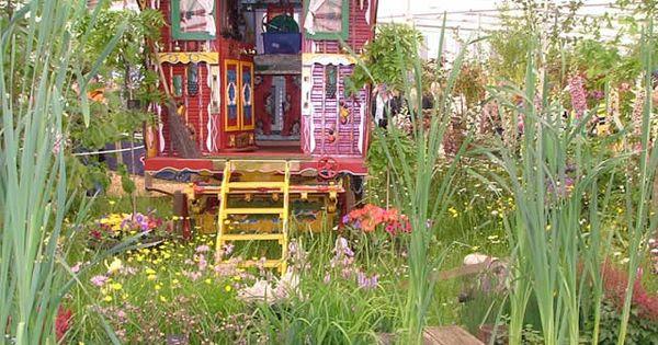 Gypsy Caravan garden