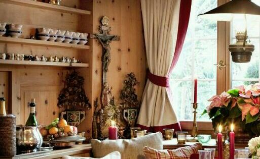 stile tirolese | table setting | pinterest | cabin, country and ... - Soggiorno Stile Tirolese