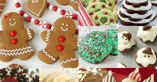 50 Creative Christmas Cookie Ideas, because my Jewish child is convinced we