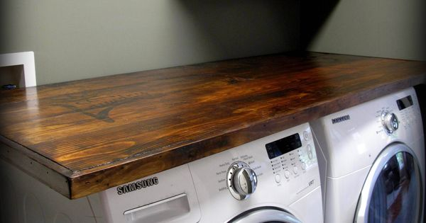 Laundry Room Ideas Diy Counter Tops
