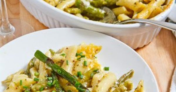 Asparagus and Pesto Mac and Cheese | Recipe | Asparagus, Pesto and Mac