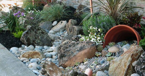 Landscape Boulders Orange County Ca : Landscaping with rocks favorites tr?dg?rdsid?er v?xter och utomhus