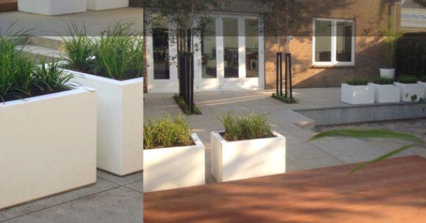 Moderne bedrijfstuin tuin princenhage breda luxe tuinen hardhouten vlonder meter - Moderne buiteninrichting ...