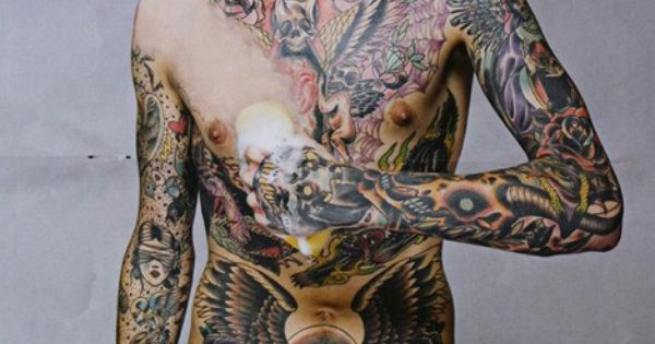 Oli sykes woah he has a sponge to get rid of his for Kat von d cover up tattoo