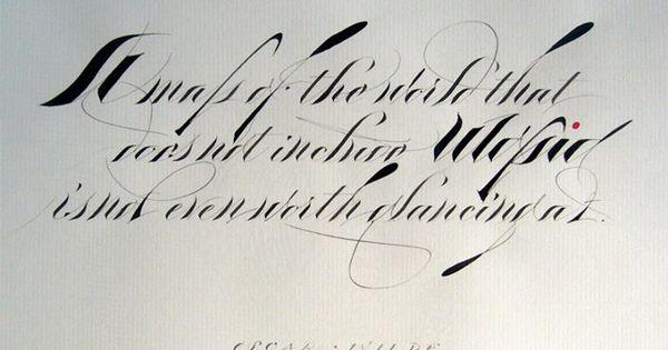 James fazz farrell calligraphy pinterest best